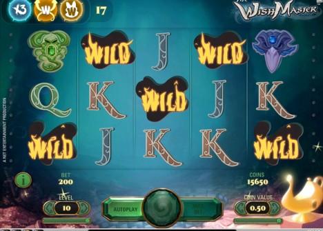 Игровой автомат Wish Master в казино Вулкан на деньги онлайн